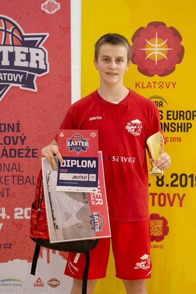 Marco Vojtko MVP Klatovy 2019